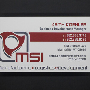 MSI Business Card