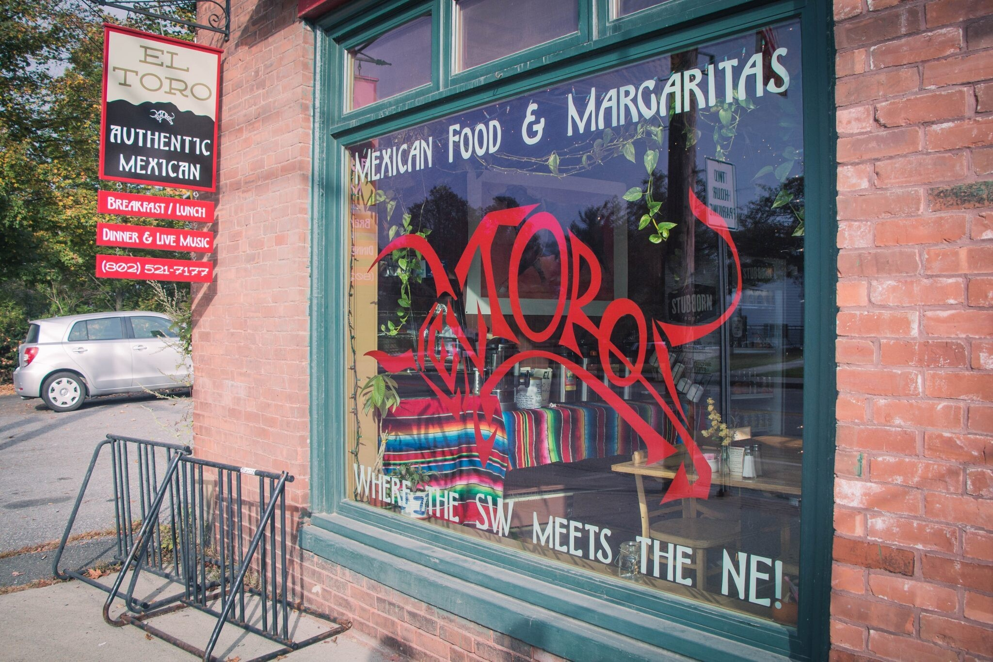 mexican food margaritas window graphics