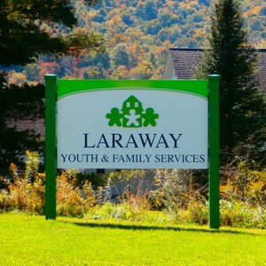 laraway youth and family services outdoor sign